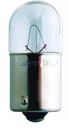 Bulb, licence plate light 13814CP PHILIPS R10W original quality