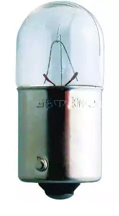 Glühlampe, Kennzeichenleuchte 13814MDCP PHILIPS R10W in Original Qualität