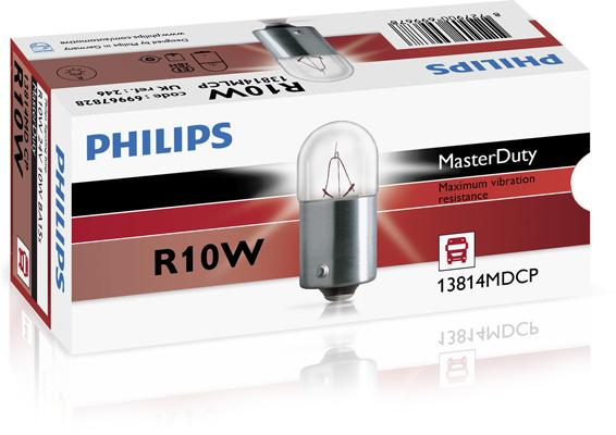 Bulb, licence plate light PHILIPS 69952428 rating