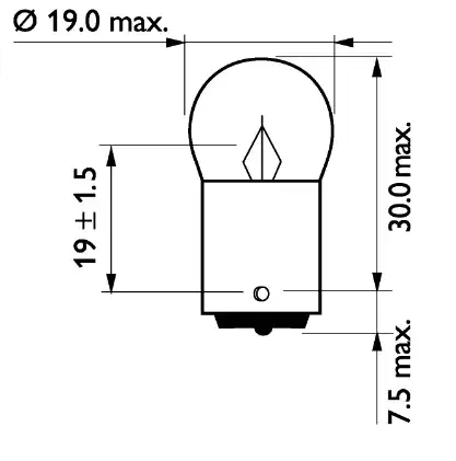 Bulb, licence plate light PHILIPS GOC69967828 expert knowledge