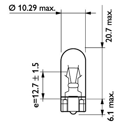 Bulb, instrument lighting PHILIPS 48147428 rating