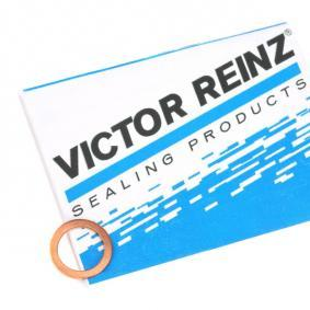 Seal, oil drain plug Ø: 17mm, Thickness: 1,5mm, Inner Diameter: 12mm with OEM Number 07 11 9 963 151