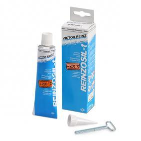 Seam sealers REINZ 70-31453-00 for car (Tube, transparent, Silicone, Contents: 70ml, hardening, not solvent-bearing, Permanently elastic, Dichtmasse)