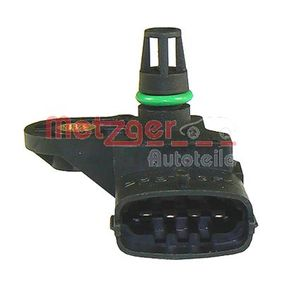 Sensor, pressão de sobrealimentação Número de pólos: 4pólos, de: 11000Pa, até: 307000Pa com códigos OEM 91 58 595