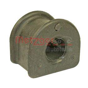 METZGER Lagerung, Stabilisator 52070509 für AUDI A4 Avant (8E5, B6) 3.0 quattro ab Baujahr 09.2001, 220 PS