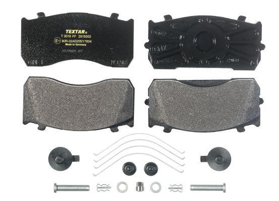 Bremsbeläge 2918302 TEXTAR 29183 in Original Qualität
