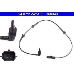 Sensor, Raddrehzahl Art. Nr. 24.0711-5251.3 120,00€