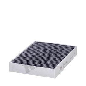 Filter, Innenraumluft Länge: 249,0mm, Breite: 198,0mm, Höhe: 41,0mm mit OEM-Nummer 6411 6 821 995