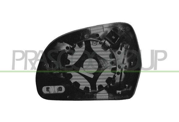 PRASCO  AD0247514 Verre de rétroviseur, rétroviseur extérieur