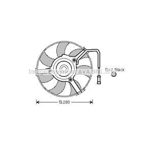 PRASCO Lüfter, Motorkühlung AI7504 für AUDI A6 (4B2, C5) 2.4 ab Baujahr 07.1998, 136 PS