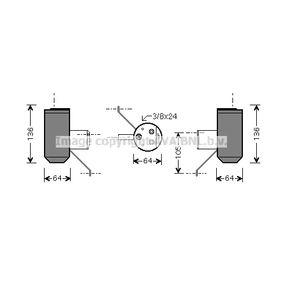 Изсушител, климатизация AUD042 25 Хечбек (RF) 2.0 iDT Г.П. 1999