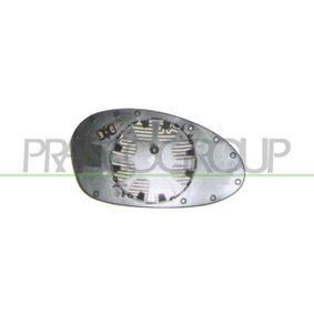 Mirror Glass, outside mirror with OEM Number 51167252893