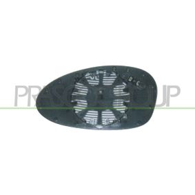 Mirror Glass, outside mirror with OEM Number 51167145268