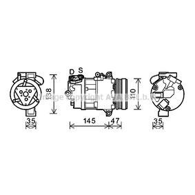 Kompressor, Klimaanlage BWAK395 X3 (E83) 2.0 d Bj 2003