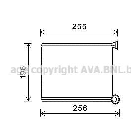Wärmetauscher, Innenraumheizung Art. Nr. CN6281 120,00€