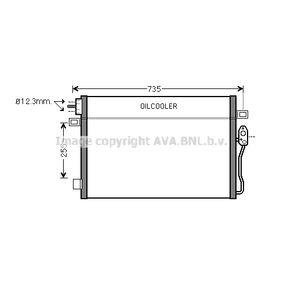 Kondensator, Klimaanlage Kältemittel: R 134a mit OEM-Nummer 68038244AA