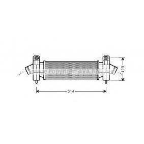 Ladeluftkühler FD4341 MONDEO 3 Kombi (BWY) 2.0 TDCi Bj 2006