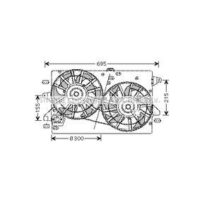 Lüfter, Motorkühlung FD7503 MONDEO 3 Kombi (BWY) 2.0 TDCi Bj 2003