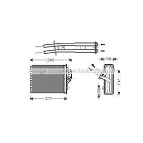 Heat Exchanger, interior heating FTA6304 PANDA (169) 1.2 MY 2014
