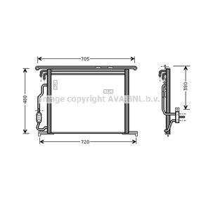 Kondensator, Klimaanlage Art. Nr. MSA5280 120,00€