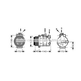 Klimakompressor Art. Nr. MSAK393 120,00€