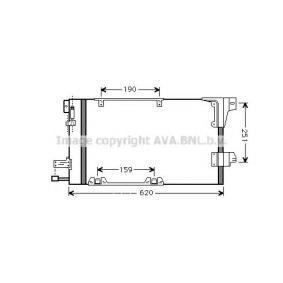 Kondensator, Klimaanlage Art. Nr. OLA5251 120,00€
