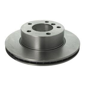 Bremsscheibe Bremsscheibendicke: 22,0mm, Lochanzahl: 5, Ø: 284mm mit OEM-Nummer 34 11 6 854 996