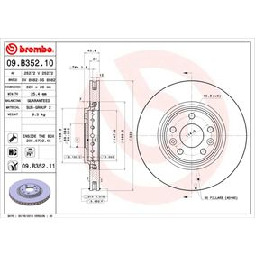 Brake Disc Brake Disc Thickness: 28mm, Num. of holes: 5, Ø: 320mm with OEM Number 40.20.600.03R