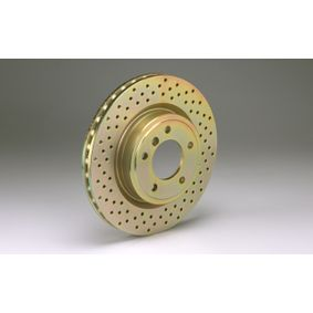 High Performance Brake Disc with OEM Number 8K0615301Q