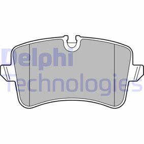 Kit de plaquettes de frein, frein à disque Hauteur 2: 60mm, Hauteur: 58mm, Epaisseur 2: 16mm avec OEM numéro 4G0 698 451K