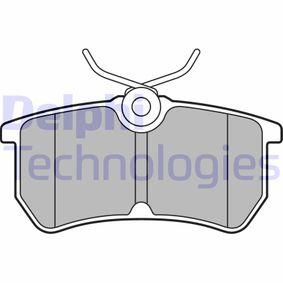 Bremsbelagsatz, Scheibenbremse Höhe 2: 42mm, Höhe: 42mm, Dicke/Stärke 1: 15mm, Dicke/Stärke 2: 15mm mit OEM-Nummer C1BC2M008AB