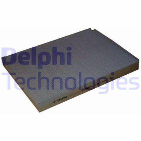 Filter, Innenraumluft Länge: 281mm, Breite: 206mm, Höhe: 25mm mit OEM-Nummer 1H0 819 644B