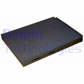 Filter, interior air Length: 281mm, Width: 206mm, Height: 25mm with OEM Number 1H0-819-644B