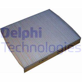 Filter, Innenraumluft Länge: 245mm, Breite: 215mm, Höhe: 32mm mit OEM-Nummer 6Q0819653