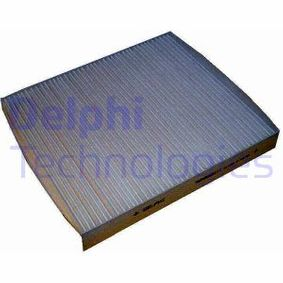 Filter, interior air Length: 245mm, Width: 215mm, Height: 32mm with OEM Number 6Q0820367