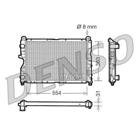 Radiator, engine cooling DRM09130 COUPE (FA/175) 2.0 20V MY 1999