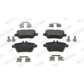 Bremsbelagsatz, Scheibenbremse Höhe 1: 59mm, Dicke/Stärke: 18,38mm mit OEM-Nummer A007 420 94 20
