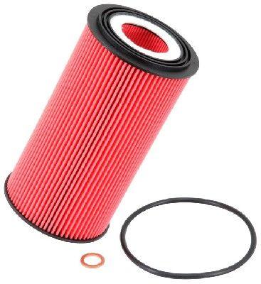K&N Filters  PS-7006 Ölfilter Ø: 80mm, Ø: 80mm, Höhe: 161mm