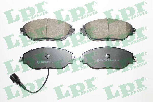 LPR  05P1734 Brake Pad Set, disc brake Width: 175,2mm, Height: 69,5mm, Thickness: 20mm