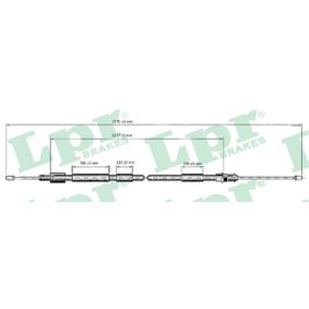 Cable, parking brake Length: 1545/1280mm with OEM Number 4745K1