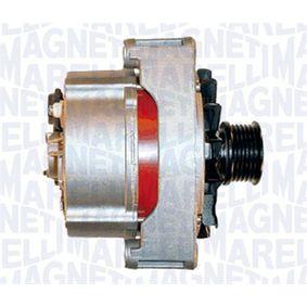 Lichtmaschine Rippenanzahl: 6 mit OEM-Nummer 0081544802
