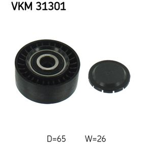 Umlenkrolle Keilrippenriemen Ø: 65mm mit OEM-Nummer 059903341F
