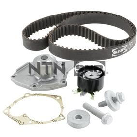 Water pump and timing belt kit with OEM Number 1680 600 QBE
