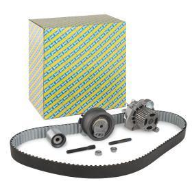 Water pump and timing belt kit KDP457.491 Fabia 2 (542) 1.4 TDI MY 2010