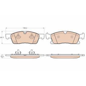 Bremsbelagsatz, Scheibenbremse Art. Nr. GDB1955 120,00€