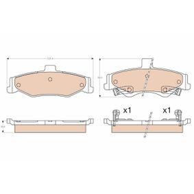 Bremsbelagsatz, Scheibenbremse Art. Nr. GDB3570 120,00€