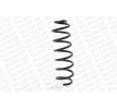 Coil springs RENAULT MEGANE 3 (BZ0) 2018 year 7491078 MONROE