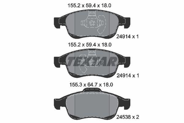 Artikelnummer 2491418005 TEXTAR Preise