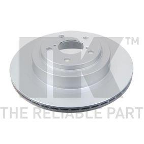 Bremsscheibe Bremsscheibendicke: 18mm, Felge: 5-loch, Ø: 290mm mit OEM-Nummer 26700 AE070