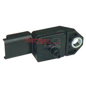Sensore pressione aria, Aggiustaggio altimetrico (0906073) per per Sensore / Sonda CITROËN C3 I (FC_) 1.4 16V HDi dal Anno 02.2002 90 CV di METZGER